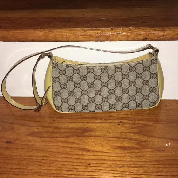 860f7ceaffa1 Gucci Bags | Sale Patent And Canvas Pochette | Poshmark